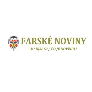 Farské noviny – Kostolná pri Dunaji